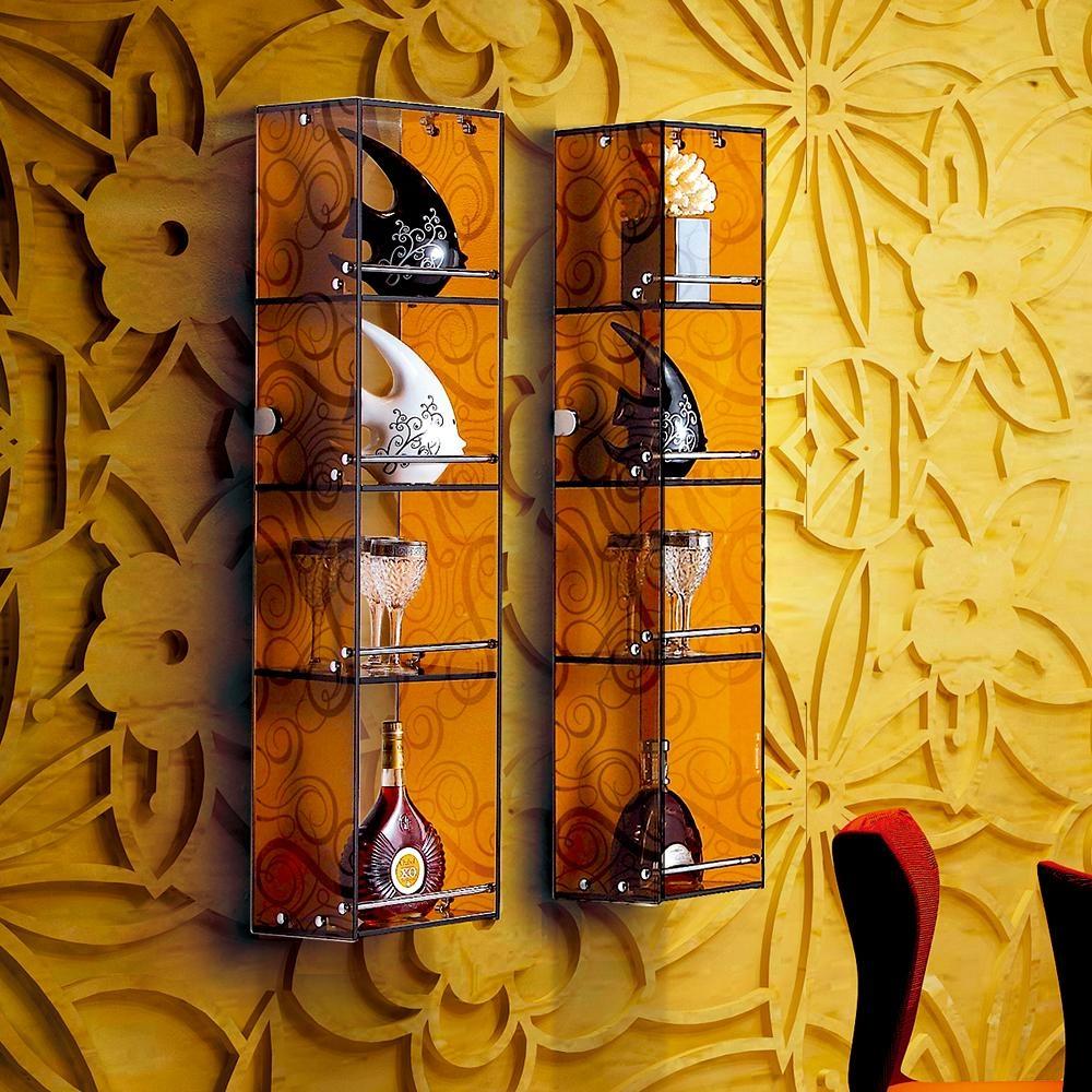 创意时尚水晶玻璃收纳柜 1