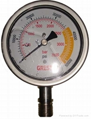 超高压压力表