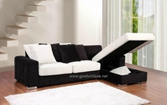 Modern Corner sofa bed  L-257#