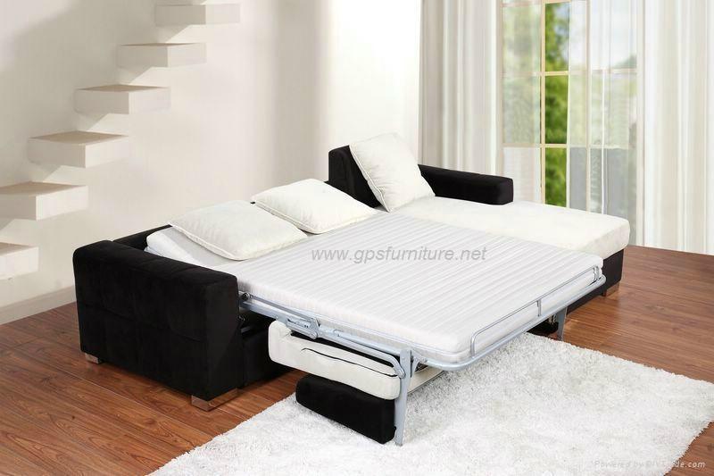 Modern Corner sofa bed  L-257# 2