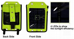 2W Solar Panel Solar charger backpack