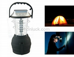 Solar &Crank Dynamo Lantern for camping, boating, fishing, car repairs etc