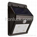 Solar PIR Wall Light