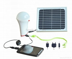 3W Solar Panel,3W LED Light Solar lighting system