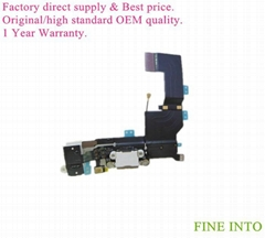 For iPhone 5S flex cable mobile phone accessories flex cable