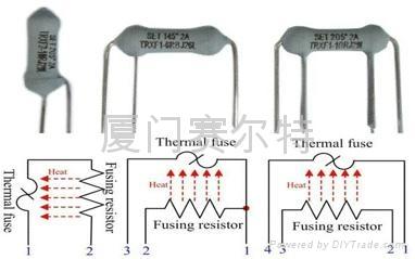 热熔断电阻器 1