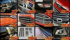 Chrome Accessories for Ford Ecosport 2013