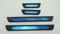 Door Sill Plates For Nissan Tiida 2016