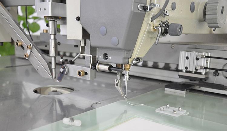 供应  打钉缝纫机 车缝钉扣一体机 钉缝加工中心 2