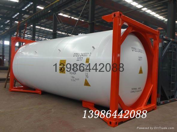 液化石油氣罐式集裝箱 1