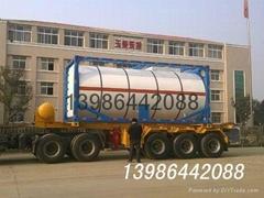 原油加熱保溫罐式集裝箱