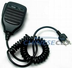 Handheld PTT Speaker Mic FOR KENWOOD Radio Motorola Radio Icom Radio