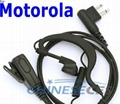 Earphone/Headset for two way radio