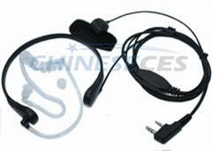 Throat-Vibration earpiec