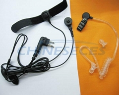 Finger PTT earpiece mic