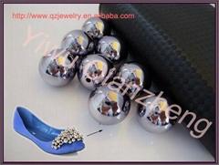 厂家直销 金色银色彩色真空电镀珠子
