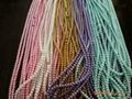 厂家直销 定做各种颜色尺寸,塑料仿珍珠,8mm每斤18元 1