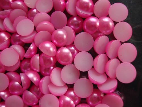 厂家直销 定做各种颜色尺寸,塑料仿珍珠,8mm每斤18元 3