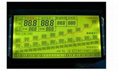 烤烟机烤烟房上专用段码LCD液晶显示模块