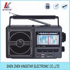 FP-901U FM AM SW USB 插卡收音機