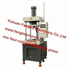 FBY-FCC-U Series of Double Acting CNC 4-columns Hydraulic Press Machine