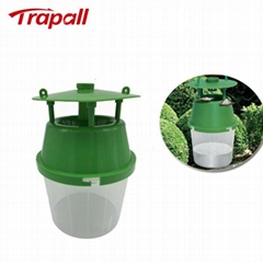 Outdoor Reusable Wasp Hanging Bucket Catcher Pheromone Moth Trap