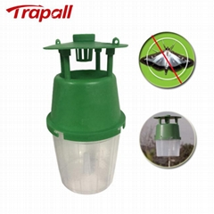 Plastic Reusable Wasp Bucket Catcher Pheromone Lure Fall Armyworm Moth Trap