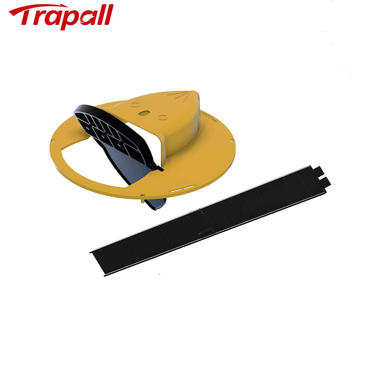 Reusable Humane Auto Reset Multi-catch Flip Bucket Lid Mouse Rat Trap 1