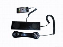 Mobile phone handset base iPhone handset