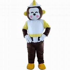 招财猴卡通服装