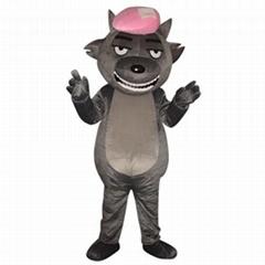 粉帽灰太狼卡通服装