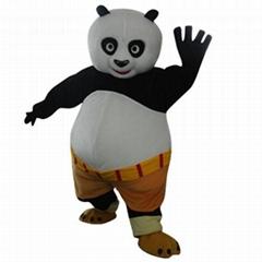 功夫熊猫卡通服装