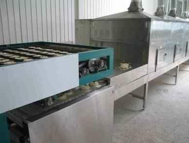 方便面微波乾燥設備 1