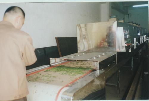 金银花微波杀青干燥设备 2