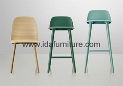 Mutto Nerd chair plywood dining chair