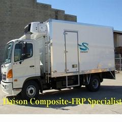 Fiberglass XPS Sandwich Panel For Refrigerated Truck