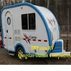 FRP Camper Trailer Customized in China