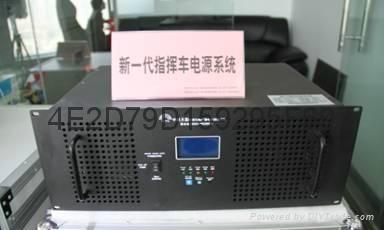 中科高清广播电视直播车电源系统 1