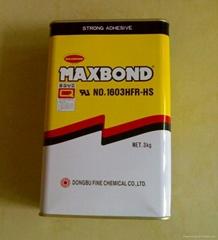 韩国东部化学MAXBOND1603HFR-HS黄胶