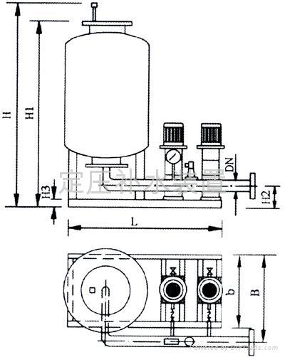中央空調末端全自動定壓補水裝置 3