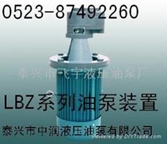 LBZ齒輪油泵立式裝置