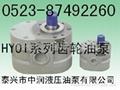 HY01齒輪泵