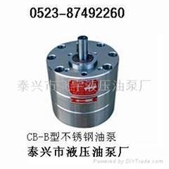 CB-BNS型不锈钢齿轮泵