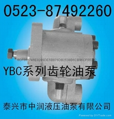 YBC系列齿轮泵