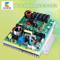 单相数字5KW 电磁加热控制板