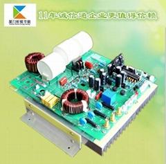 三相数字8KW电磁加热控制板