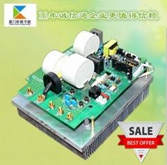 三相数字半桥10KW电磁加热控制板