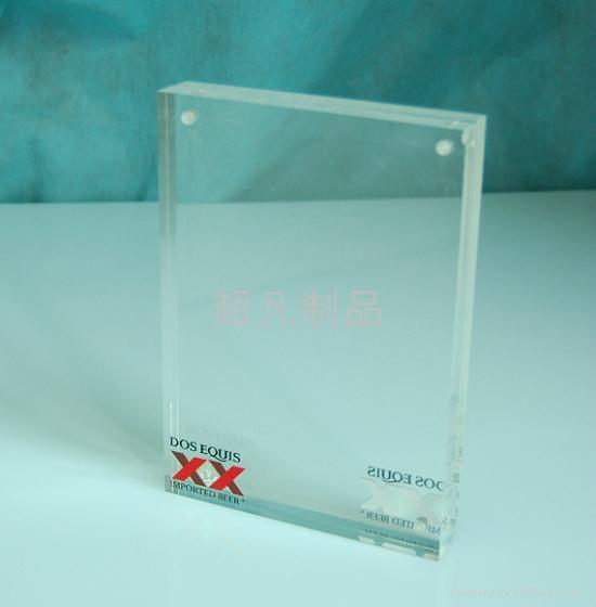 壓克力有機玻璃磁鐵相框 2