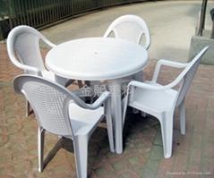大排檔用塑料桌椅