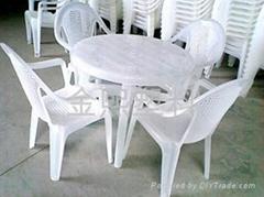 全新料大排檔塑料桌椅